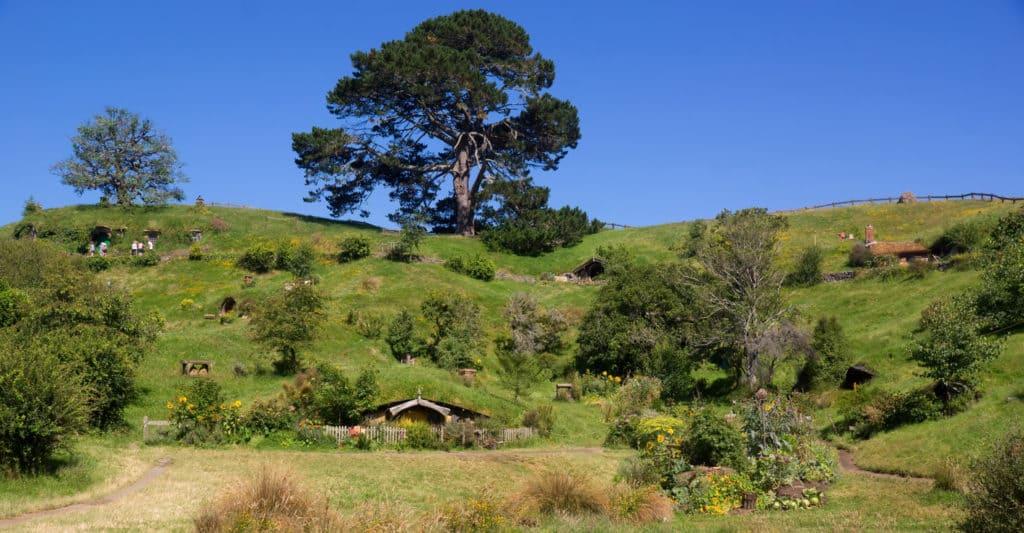 travel destinations-Hobbiton Movie Set tours