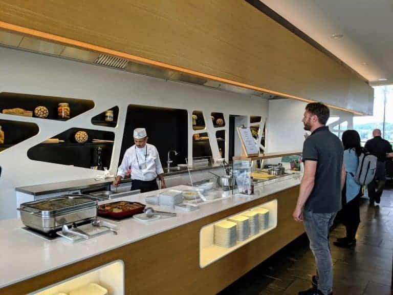 Zurich Lounge Food