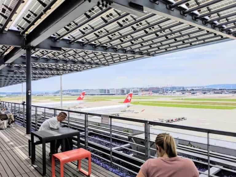 Zurich Lounge Observation Deck