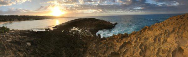 Jobos Beach at sunset