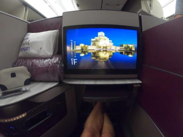 Qatar Airways Qsuites - Seat 1F
