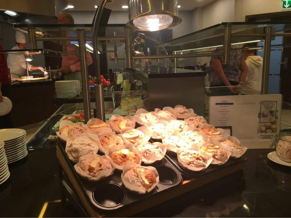 Hilton Berlin Review-Breakfast-meals-selection