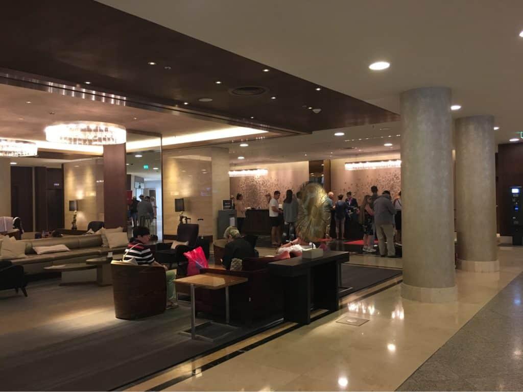 Hilton Berlin Review-Checkin