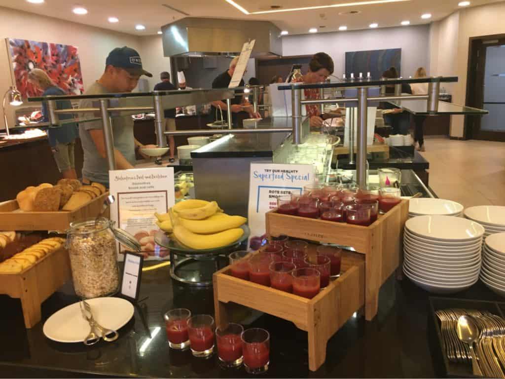 Hilton Berlin Review-meals
