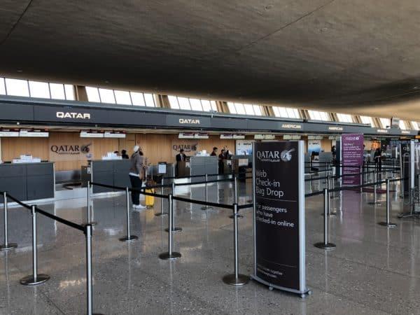 Qatar Airways Check In Desk - IAD