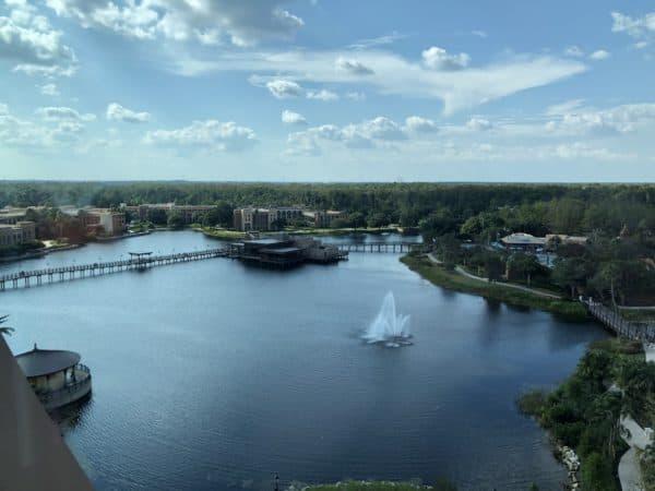 Disney's Coronado Springs Resort - View from my room
