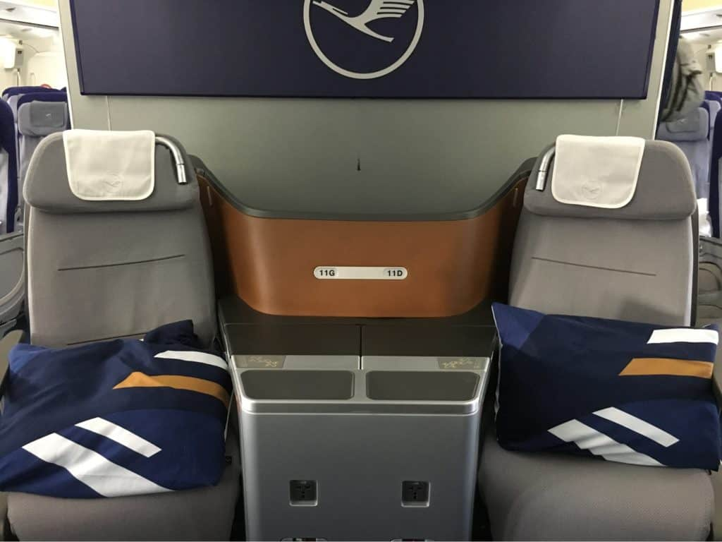Lufthansa Cabin and Business Class Seat