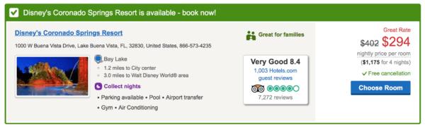 Booking The Coronado Springs Resort