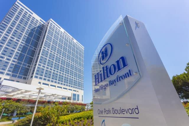 San Diego Bay Front Hilton Hotel