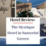 hotel in greece the mystique in santorini