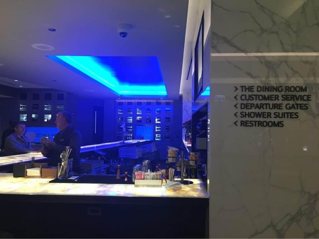 United Polaris Lounge At Chicago O'Hare