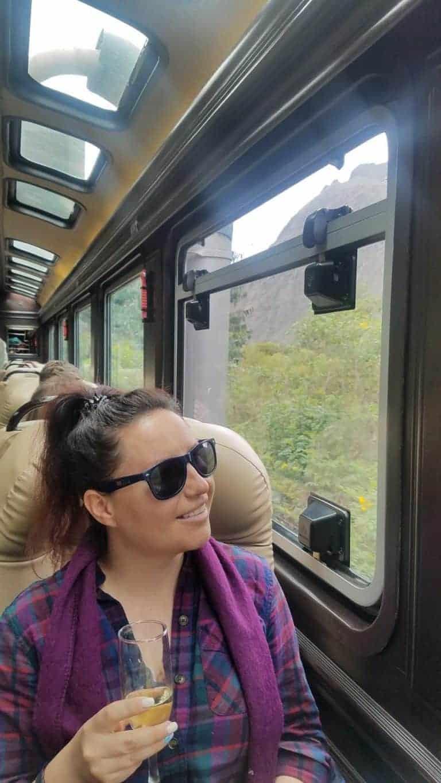 The First Class on Inca Rail (Photo courtesy of Anya Kartashova)