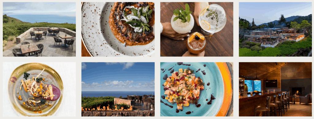 Alila Ventana Big Sur dining culinary experience