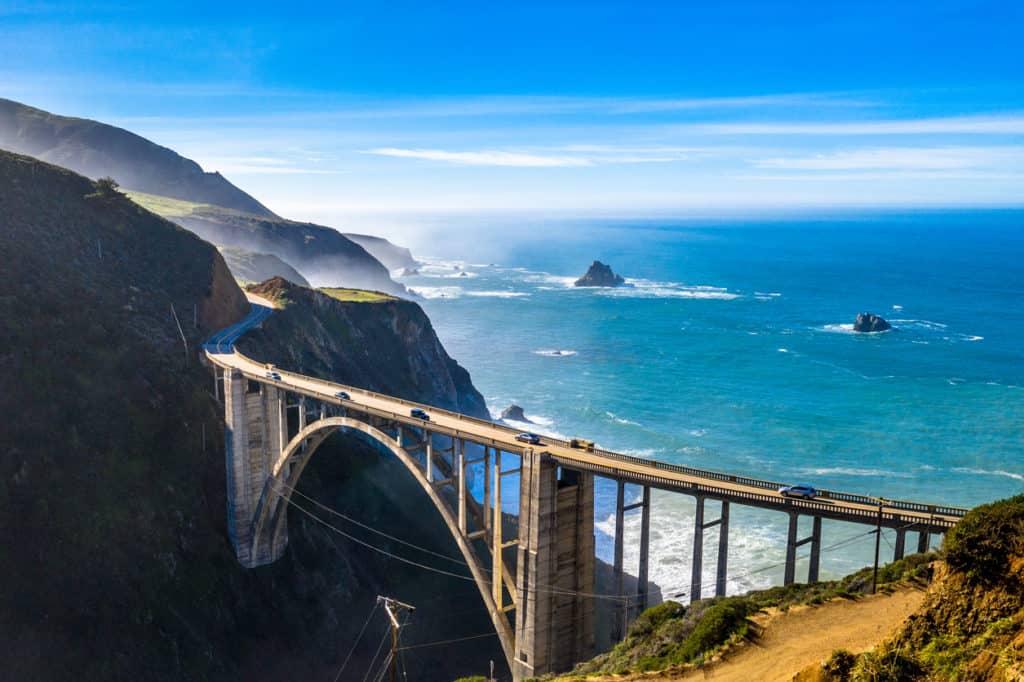 Big Sur Bridge - Big Sur, California