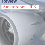 airline review KLM business class