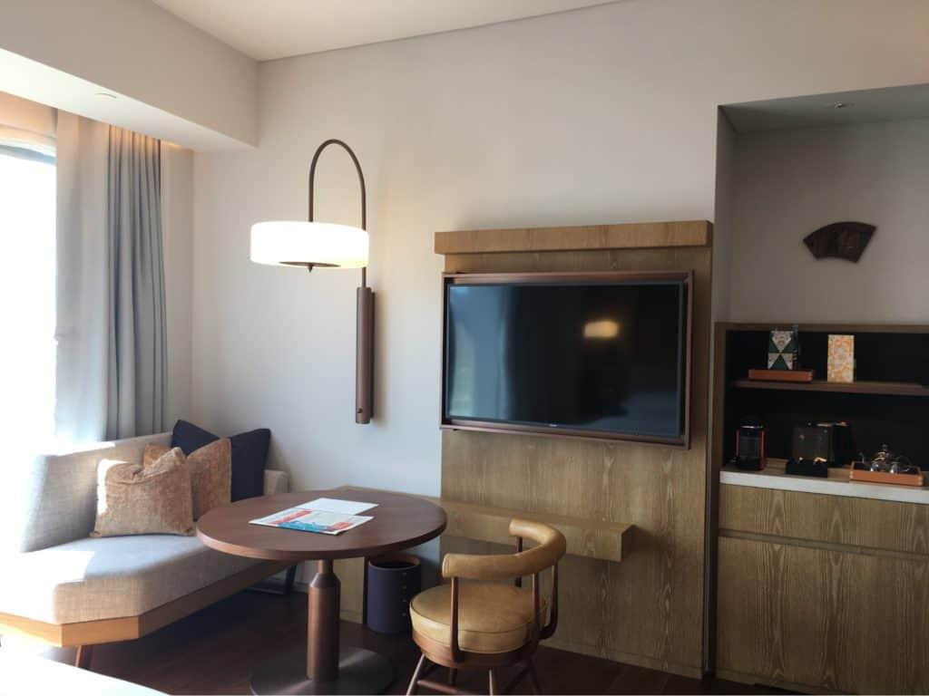 Andaz Singapore Review-Living Room