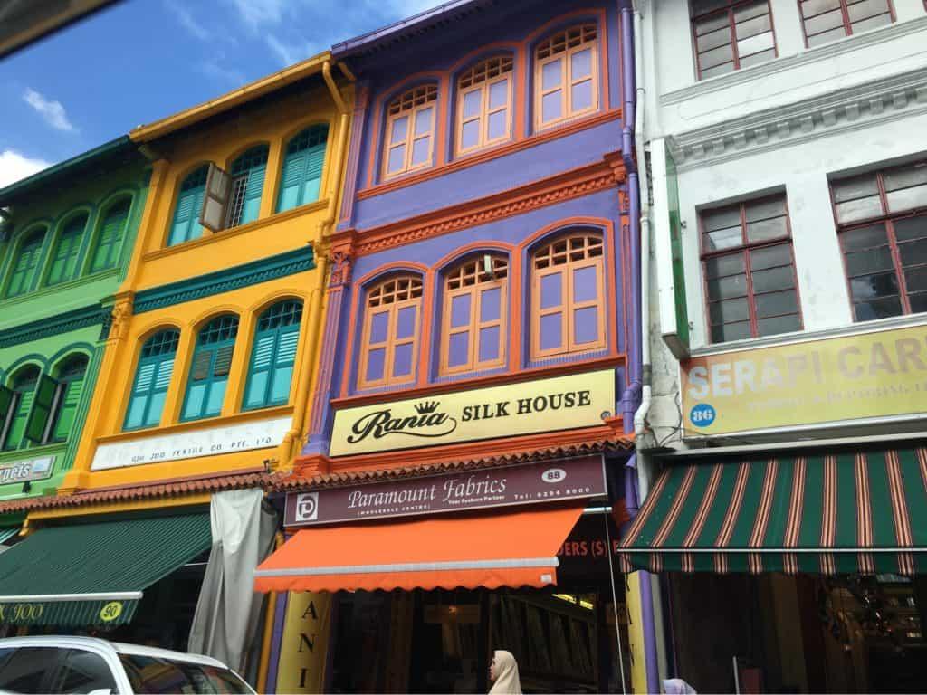 Shophouses near Andaz Singapore