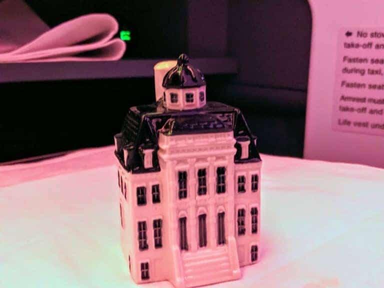 KLM Business Class Delft Blue House #100