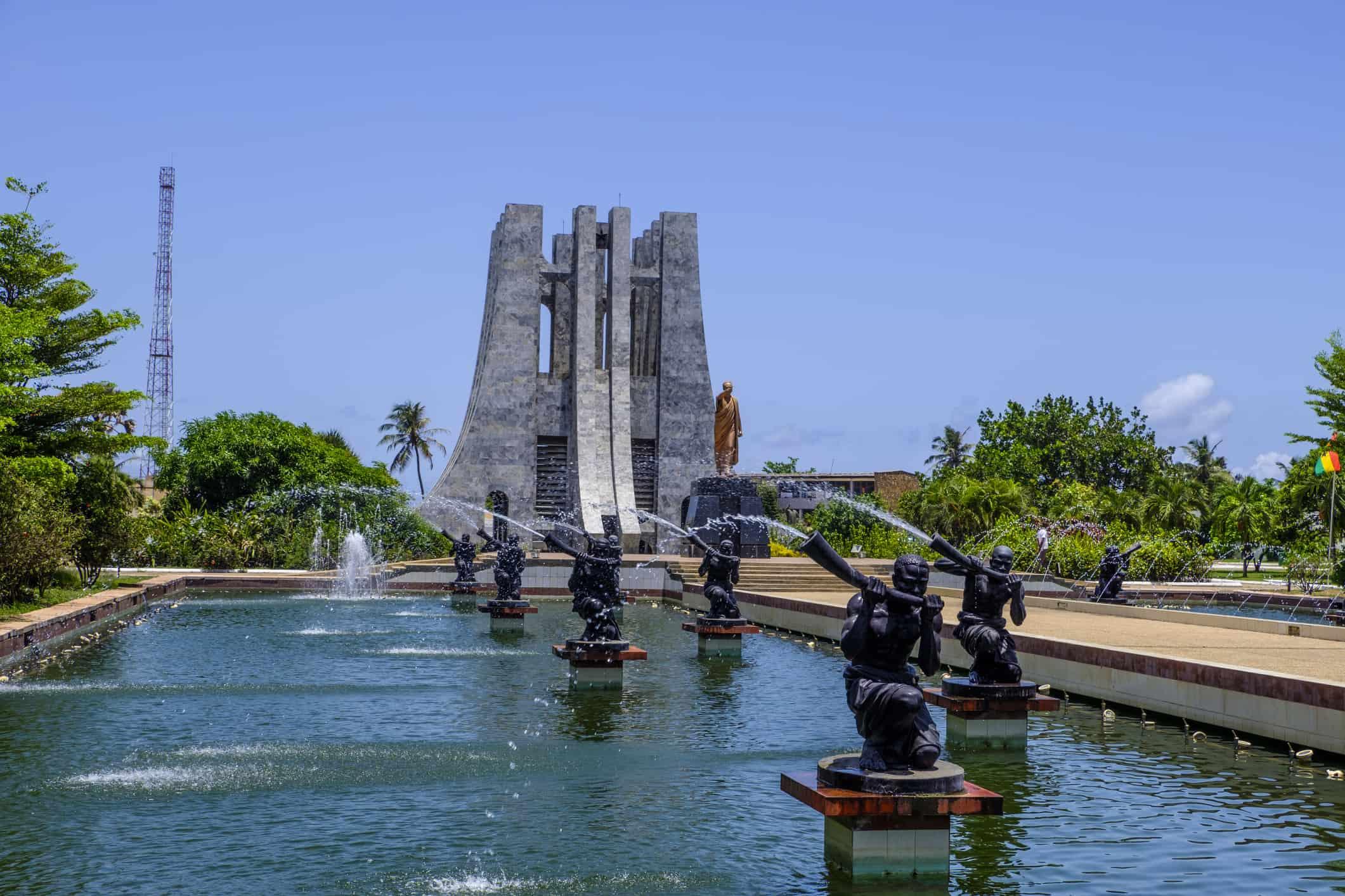 Kwame Nkrumah Memorial Park Accra Ghana
