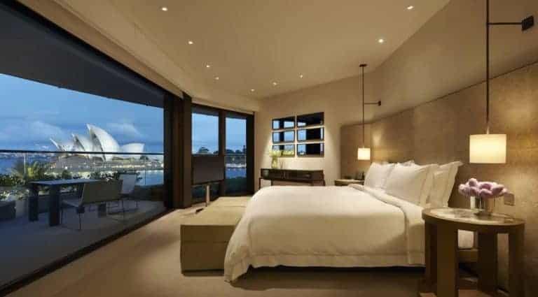 Park Hyatt Sydney Suite Master Bedroom