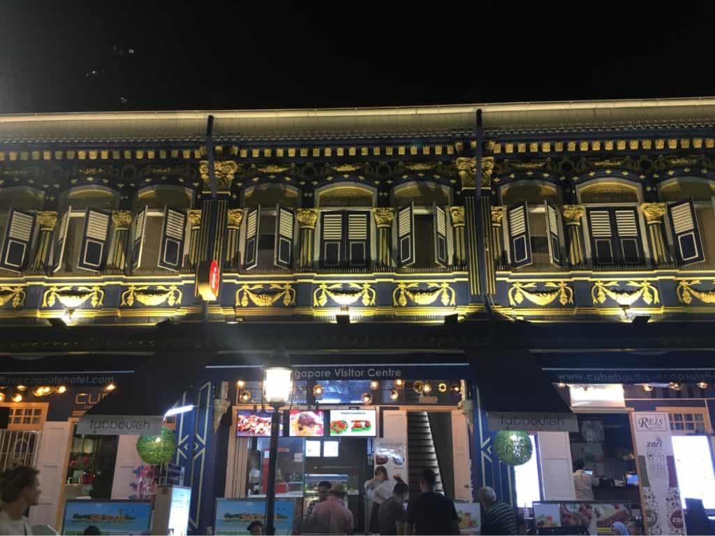 Shophouses near Andaz Singapore - Location Review