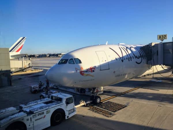 Virgin Atlantic Airbus A330 At Washington Dulles