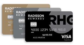 radisson rewards visa cards
