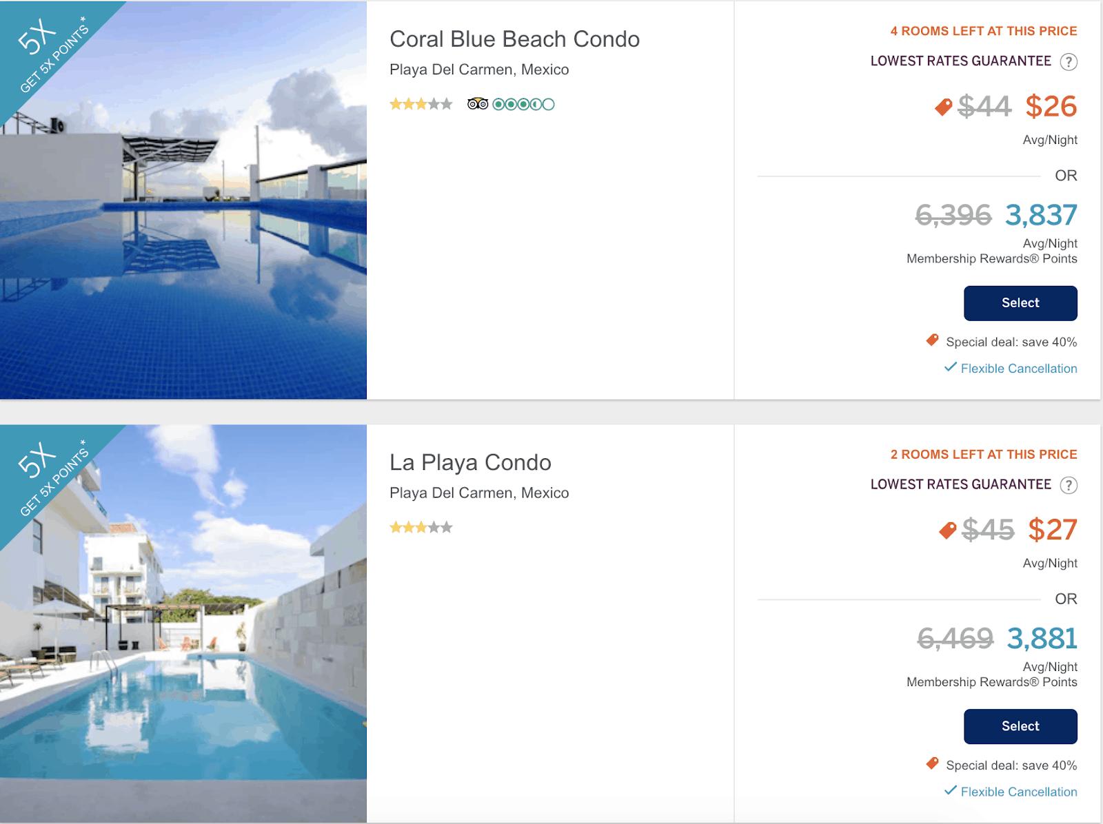 04. Amex travel hotels