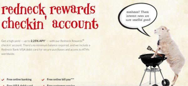 Redneck Credit Union- Redneck Rewards