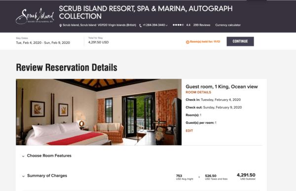 How to Book the Scrub Island Resort