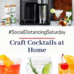 "images of cocktails with The Drinkworks Home Bar by Keurig® (""Drinkworks"")"