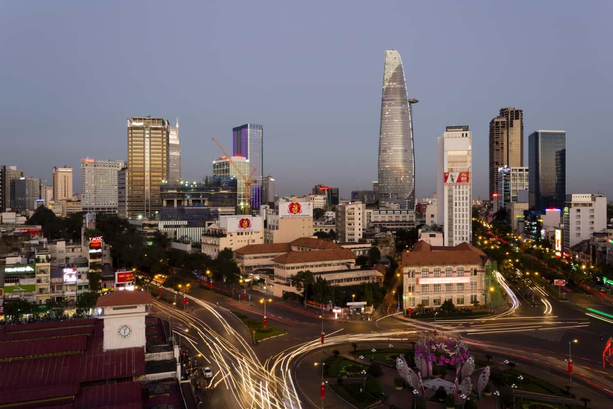 Ho Chi Minh City Vietnam Skyline