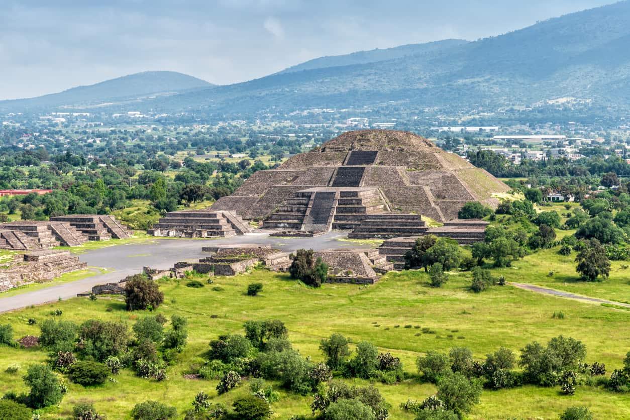 Mexico City Teotihuacán Pyramids
