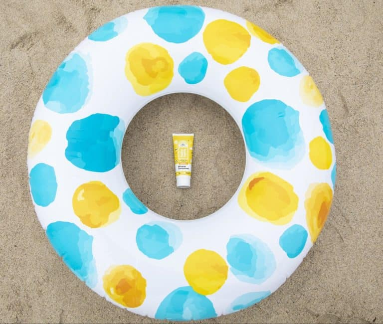 beach vacation packing list-sunscreen