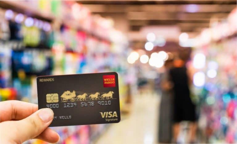 credit card grocery Best Grocery Welcome Bonus Wells Fargo Visa Signature Card