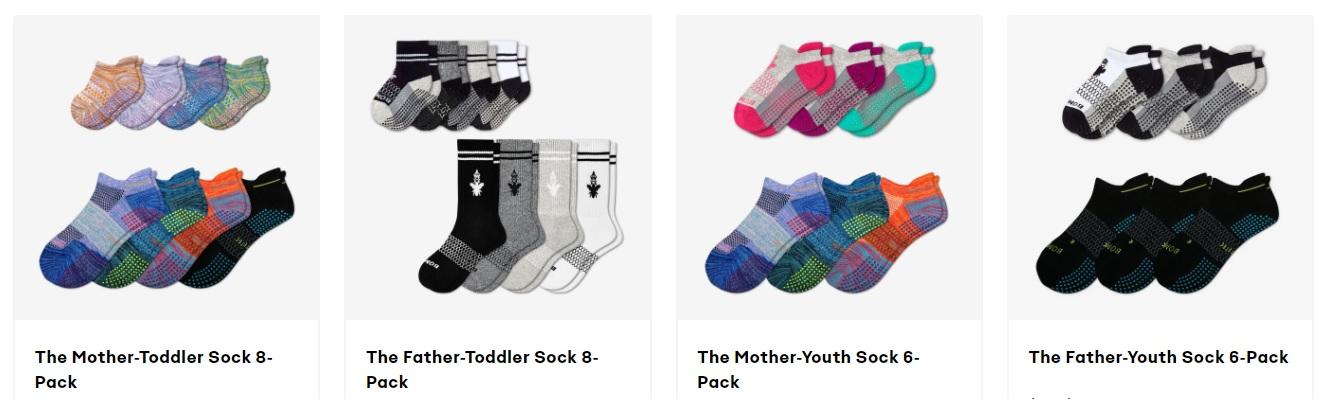 Bombas Socks - Family Packs