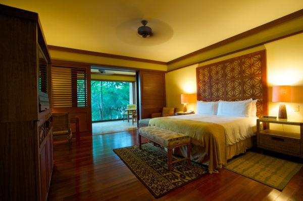 Luxury room in fine tropical resort