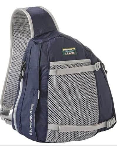 Stowaway sling bag