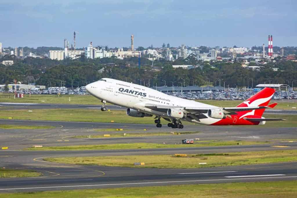 Qantas-at-Sydney-Airport
