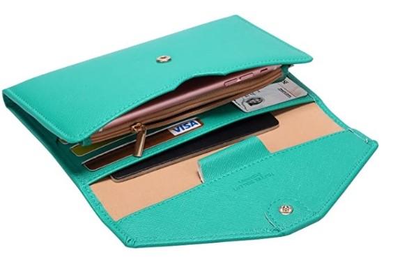 Zoppen Multi-purpose RFID Blocking Travel Passport Wallet (v. 4) Trifold Document Organizer Holder