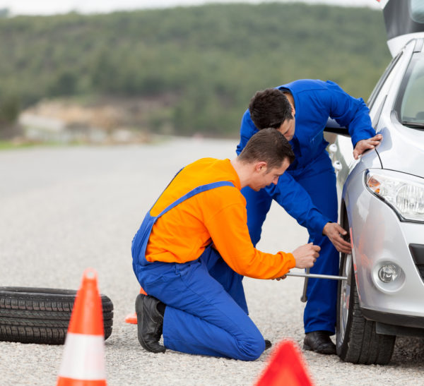 roadside assistance with chase ink business cash credit card