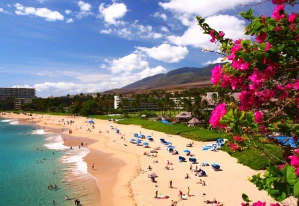 Maui Hawaii resort hotel Pacific ocean beach