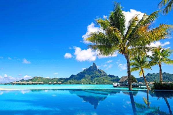 Mt Otemanu Bora Bora Tahiti