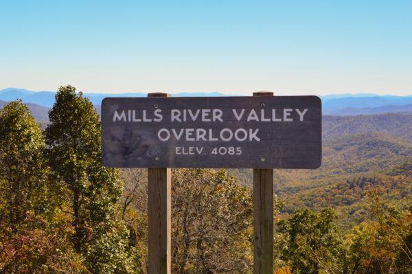 Mills River Valley Overlook