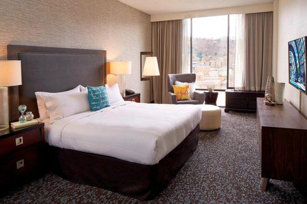 The Renaissance Asheville Hotel room