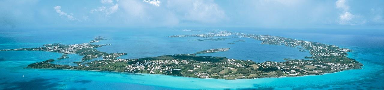 weekend getaways to Bermuda- island aerial