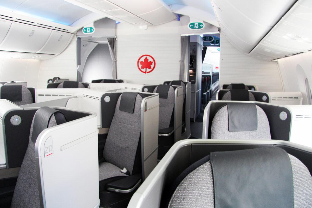 aeroplan-Air Canada Business Class