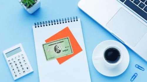 amex green credit card