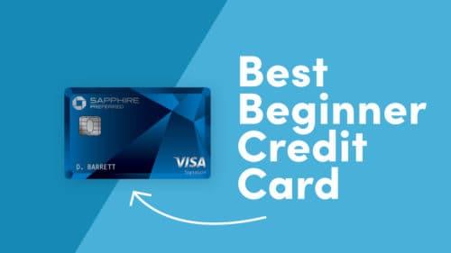 Best Beginner Credit card-chase sapphire preferred