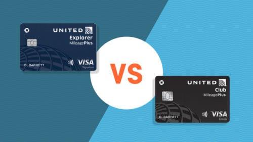 United explorer vs united club infinite card